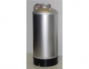 Stainless steel barrel 18 liters NC without collar