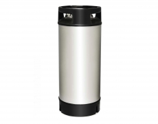 Stainless steel barrel 18 liters NC with rubber collar