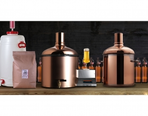 BrauEule III Starter Set with copper plated lautering tun