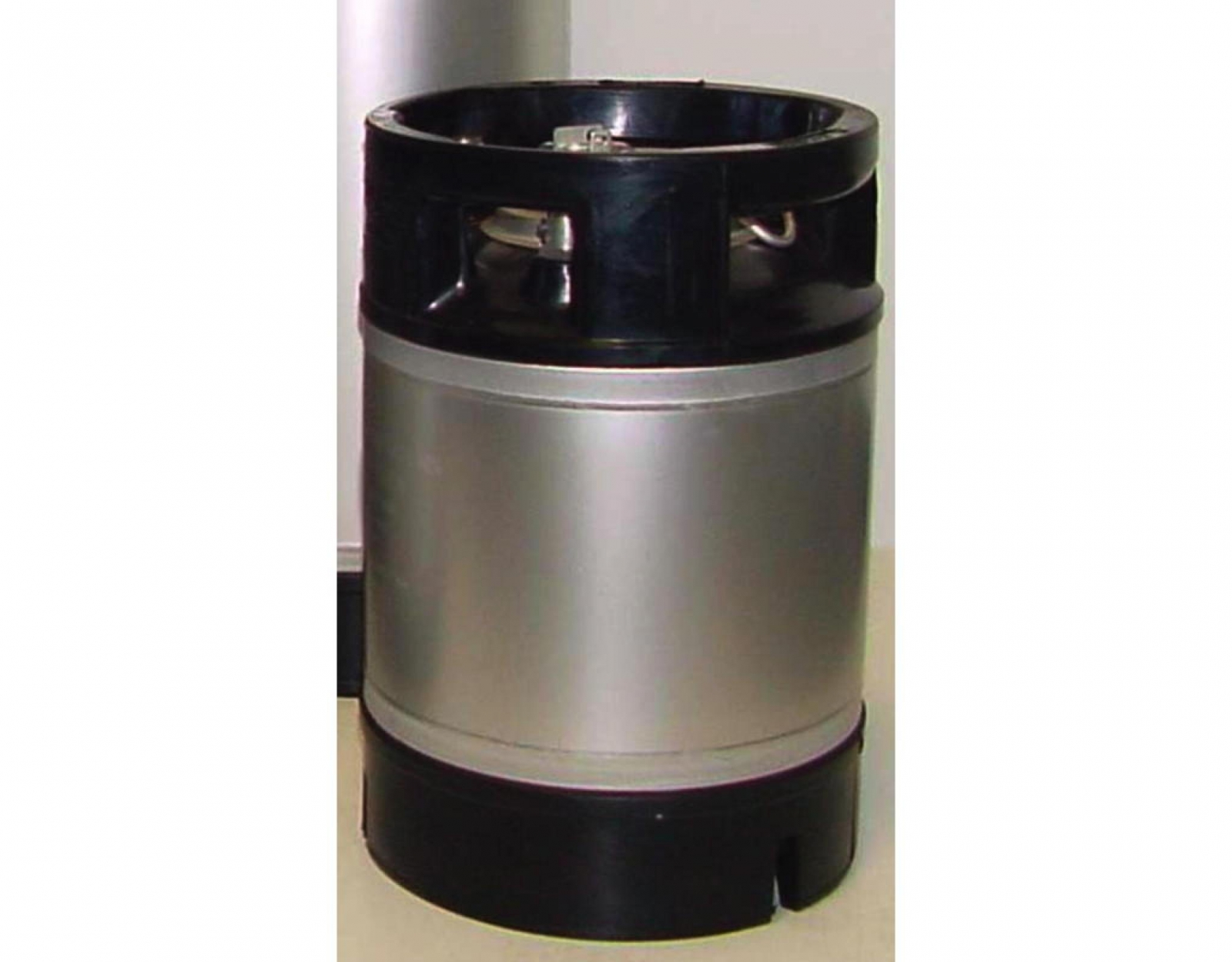 Edelstahlfass 9 Liter NC mit Gummikragen